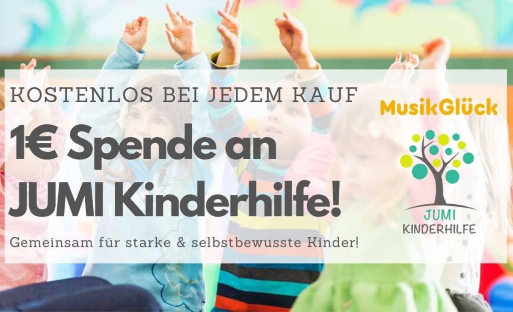 MusikGlück unterstützt JUMI Kinderhilfe